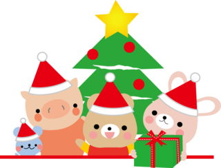 クリスマスパーティー動物たち.png